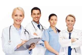 Beratung mulitprofessionelles Team (Arzt, Ärztin, Pflegekraft)